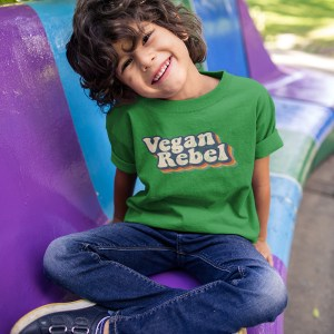 Vegan-Rebel, Kids, Tee