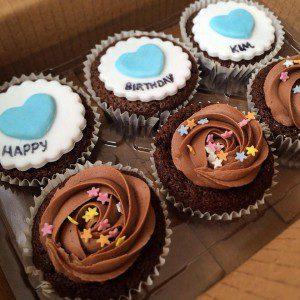 birthday cupcakes birthday cupcakes Birthday Cupcakes hbd kim