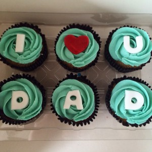 Father's Day Cupcakes father's day cupcakes Father's Day Cupcakes- design 2 IMG 7690