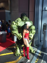 The Hulk and Wonder Woman