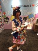 Sanrio Booth Worker