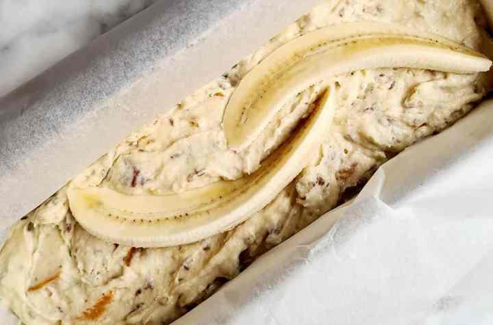 Bananenbrood met abrikozen