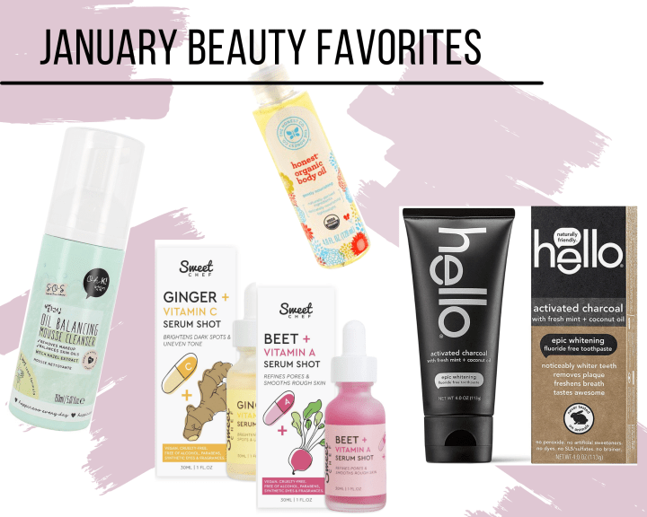 January Vegan Beauty Favorites