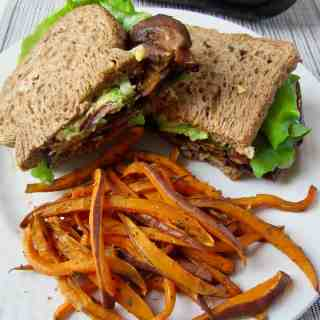 The Vegan (E)BLT: Eggplant Bacon Sandwich