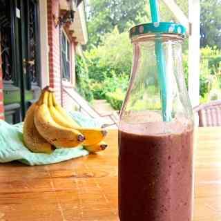 Simple Everyday Protein Smoothie (Sugar Free)