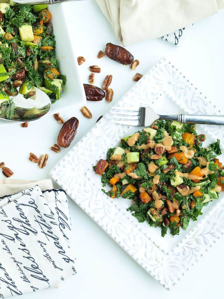 Autumn Kale Salad