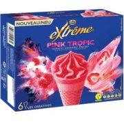 Glaces Extrême Pink tropic de Nestlé