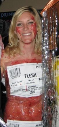costume viande humaine