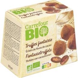 Truffes au chocolat bios Carrefour