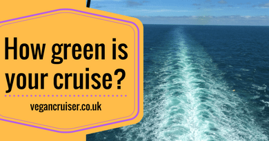 How green is your cruise environmental effect of cruising