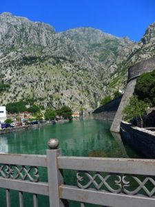 Kotor cruise port medieval town