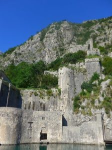 Kotor cruise port medieval town