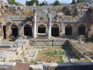 Ancient Corith ruins