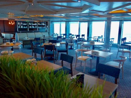 Steamers seafood restaurant Caribbean Princess refurbishment