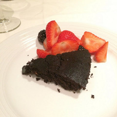 vegan cake royal caribbean