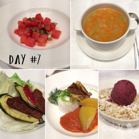 Royal Princess Cruises vegan dining day 7