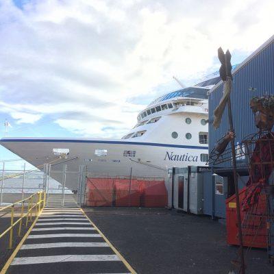 Ocania Cruises Nautica Greenock Ocean Terminal Scotland
