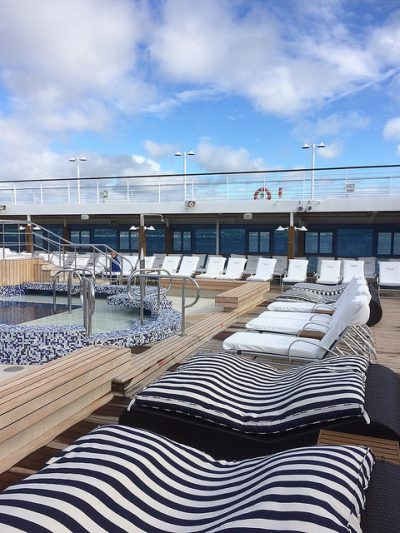 Oceania Cruises Nautica pool deck vegancruiser visit