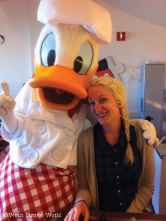 Melissa with Chef Donald
