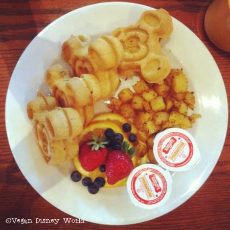 Waffles from Pepper Market