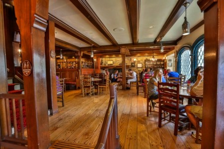 Interior of Liberty Tree Tavern