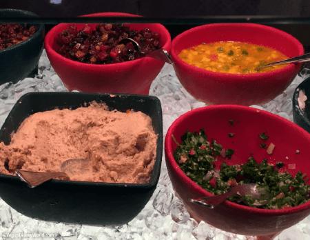 Hummus, Tabouleh, Chutney