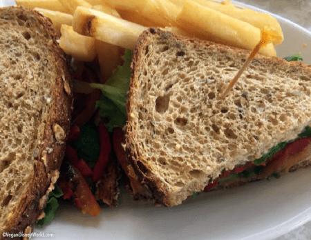 Vegetarian Sandwich, vegan