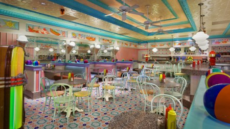 Beaches and Cream Soda Shop -- image from Disney