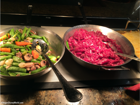 Sautéed Veggies and Red Cabbage