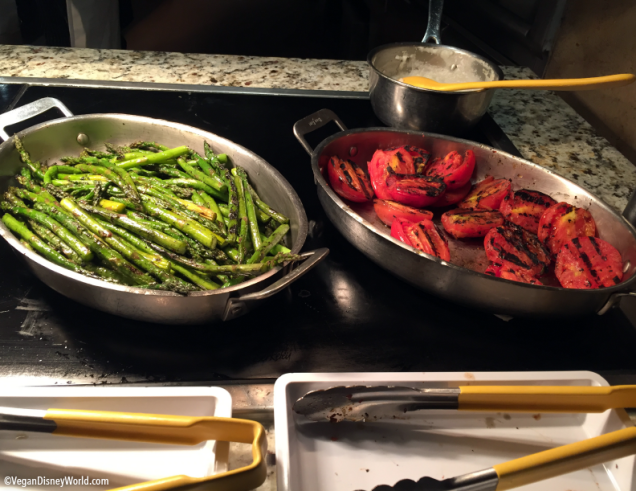 Oak-Grilled Asparagus and Tomatoes