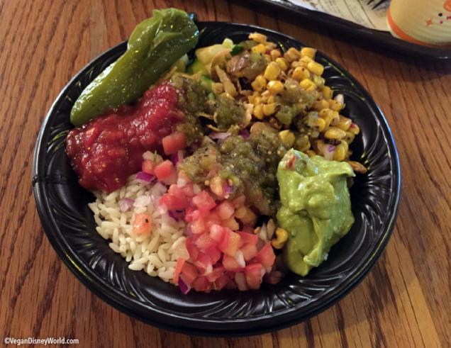Loaded Vegetable Rice Bowl