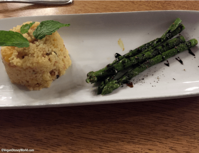 Couscous and Asparagus