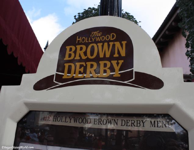 Hollywood Brown Derby Menu Sign
