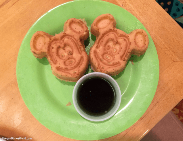 Allergy Mickey Waffles