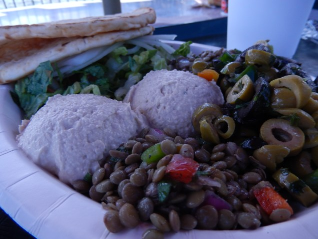 Vegetable Platter from Tangierine Cafe