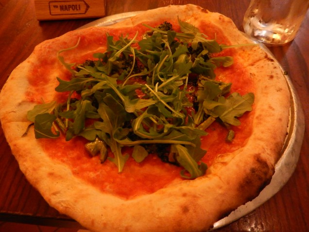 Pizza from Via Napoli