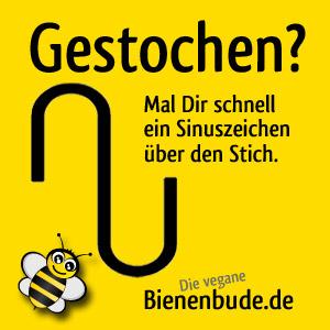 Bienenbude Tipps Gestochen