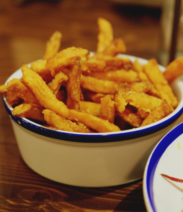 Sweet potato fries at Foundry 39