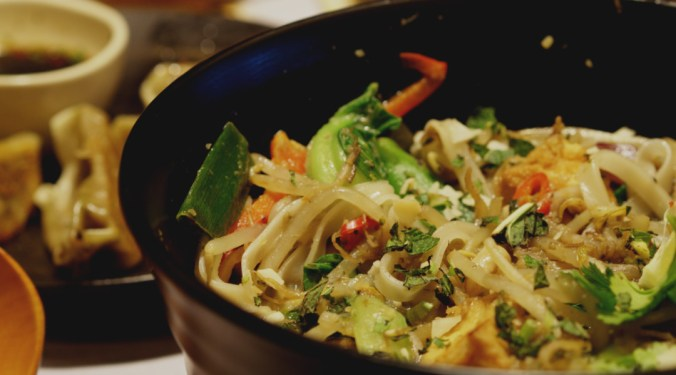 Vegan yasai itame at Wagamama Edinburgh