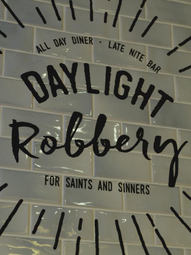 Daylight Robbery Sign