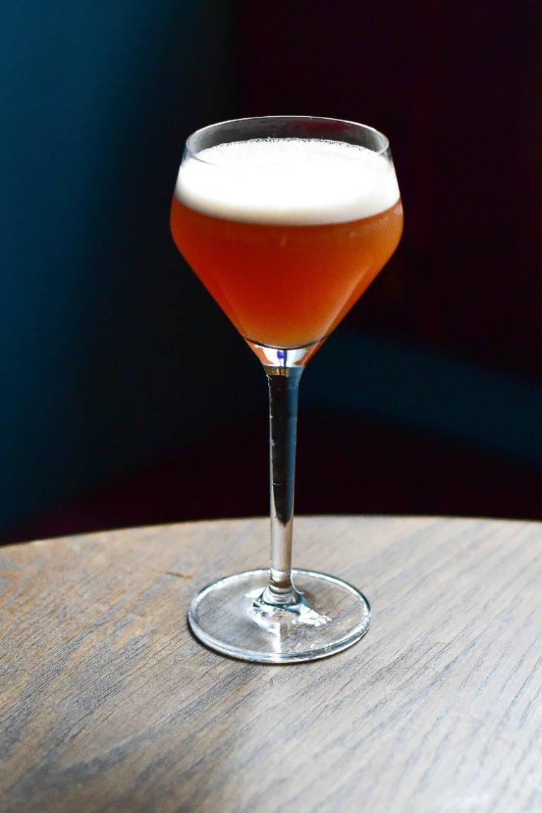 Vegan cocktail at BABA Edinburgh