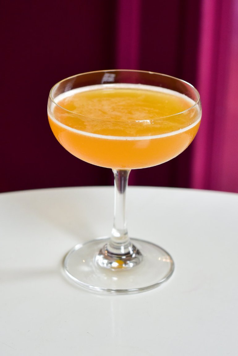 Vegan cocktail at Boda Bar, Edinburgh