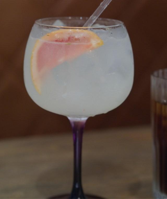 Gin at Indigo Yard, Edinburgh
