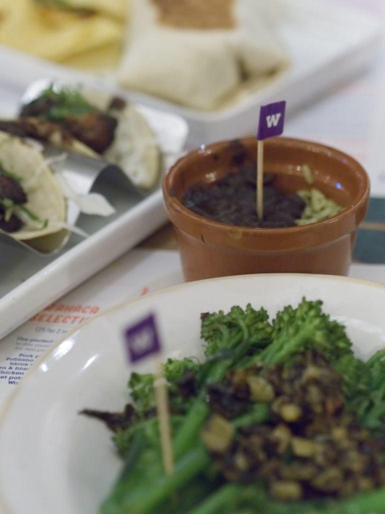 Vegan food at Wahaca Edinburgh