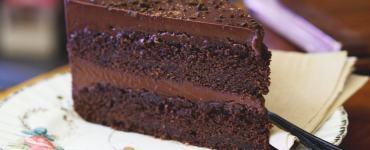 Coffee Cake at the Chocolate Tree Edinburgh