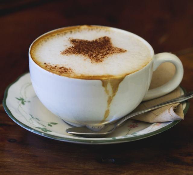 Coffee at the Chocolate Tree Edinburgh