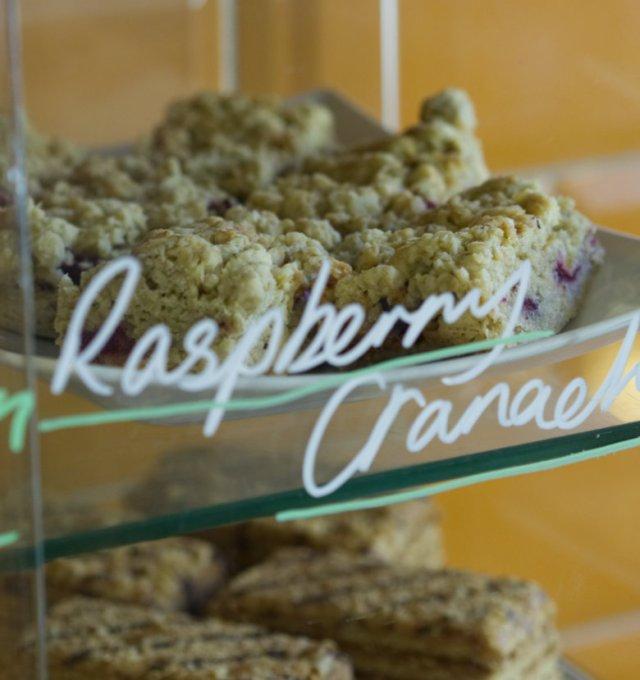 Raspberry Cranachan Bake at Union of Genius