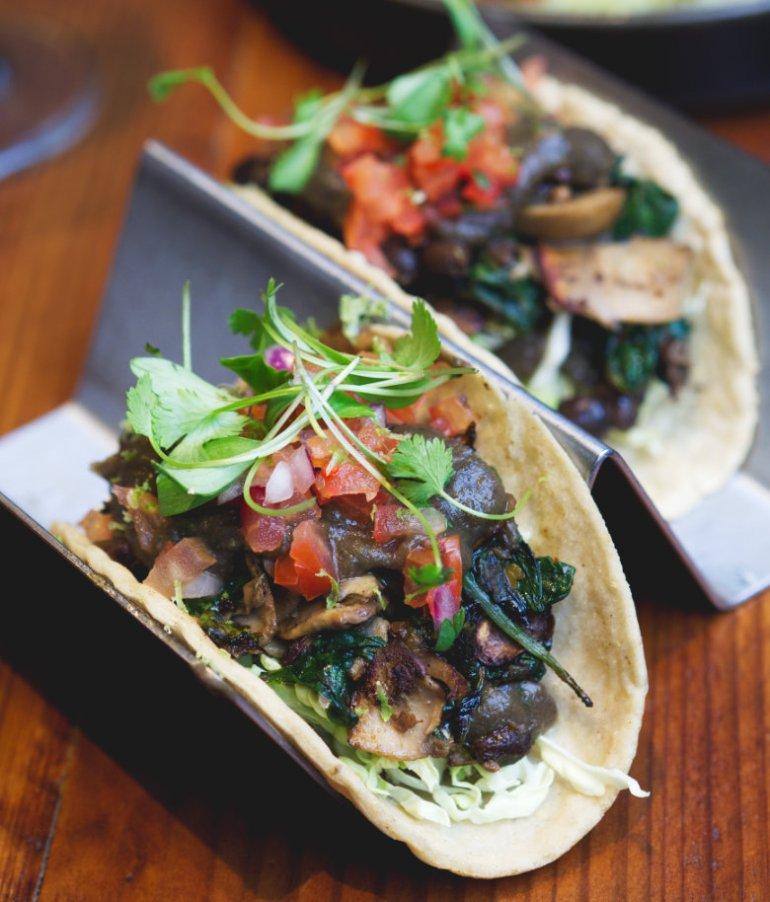 Vegan Taco De Frijoles at El Cartel Edinburgh