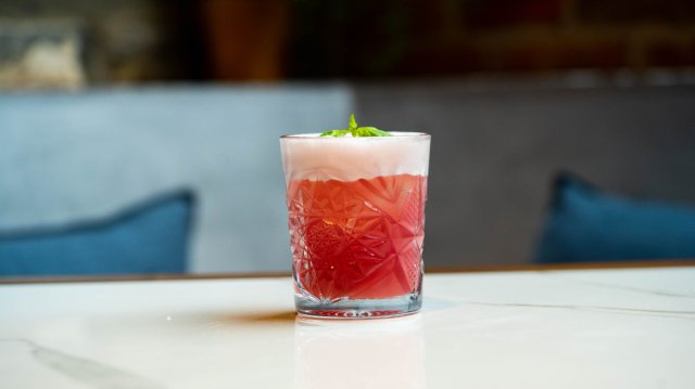 Vegan cocktail at Cold Town House