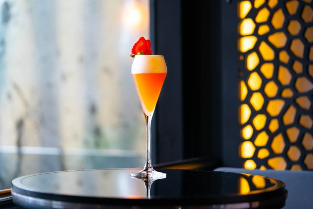 Vegan cocktail at Gaucho, Edinburgh